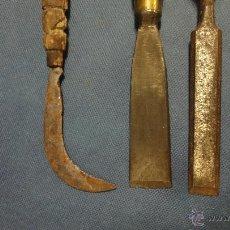 Antigüedades: 2 FORMONES Y 1 HOZ ANTIGUAS. Lote 51459962