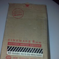 Antigüedades: MAQUINA DE CINE 8 MM H.D. HUDSON PHOTOGRAPHIC INDUSTRIES ACTION MOVIE EDITOR CINEMAGE. Lote 51463613