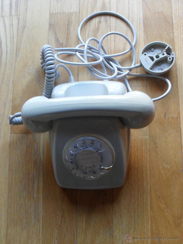 TELEFONO CITESA STANDARD ELECTRIC, CTNE, (Antigüedades - Técnicas - Teléfonos Antiguos)