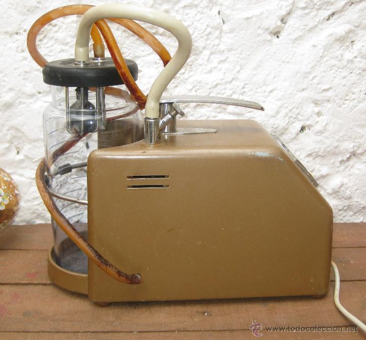 Antigüedades: APARATO MEDICO ANTIGUO AÑOS 60 VACUOMETRO INDUSTRIAS ORDISI PALLEJA BARCELONA ELECTRO MEDICINA - Foto 3 - 51534849