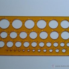 Antiquitäten - PLANTILLA CIRCULOS ILCA MADE ITALY - 51584304