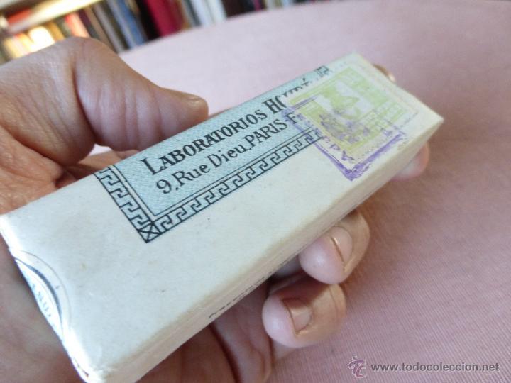 Antigüedades: Antigua caja de medicamento hydrastine houde , en su caja y precintado - Foto 3 - 51628178
