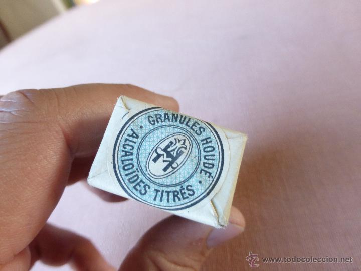 Antigüedades: Antigua caja de medicamento hydrastine houde , en su caja y precintado - Foto 4 - 51628178
