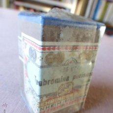 Antigüedades: ANTIGUA CAJA DE MEDICAMENTO TEOBROMINA PURISIMA , BOEHRINGER , EN SU CAJA Y PRECINTADO. Lote 51628216