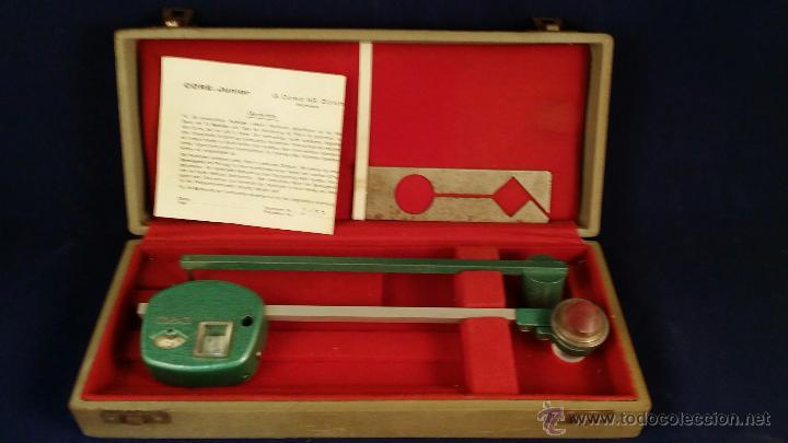 ANTIGUO PLANÍMETRO CORADI - INCLUYE ESTUCHE ORIGINAL (Antigüedades - Técnicas - Otros Instrumentos Ópticos Antiguos)