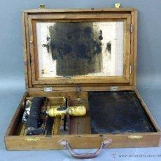 Antigüedades: IMPRENTA MULTICOPISTA PORTÁTIL PRESTO SEGUNDO VALLESPÍN LA CORUÑA CON MALETÍN INSTRUCCIONES . Lote 51665402
