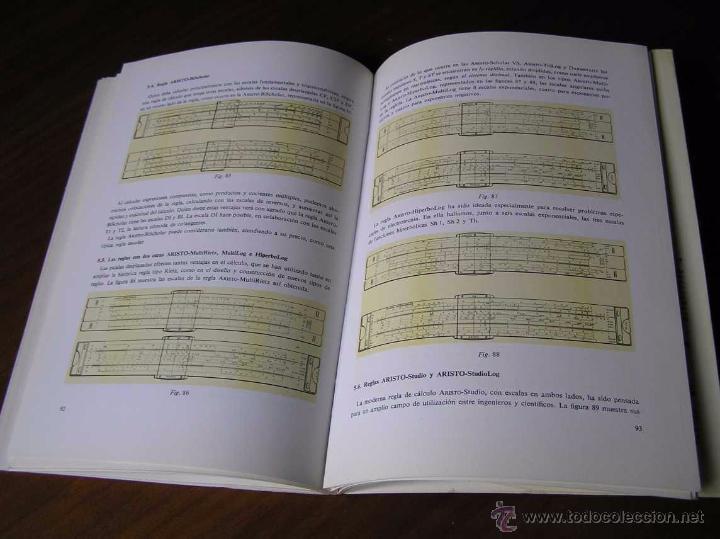 Antigüedades: LIBRO LA REGLA DE CALCULO MODERNA STENDER SCHUCHARDT 1971 SLIDE RULE RECHENSCHIEBER - Foto 20 - 51727412
