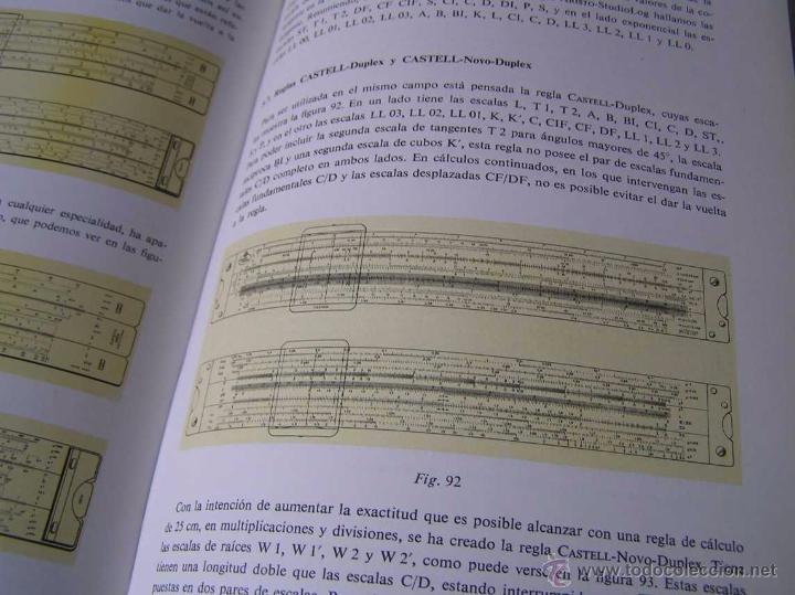 Antigüedades: LIBRO LA REGLA DE CALCULO MODERNA STENDER SCHUCHARDT 1971 SLIDE RULE RECHENSCHIEBER - Foto 21 - 51727412