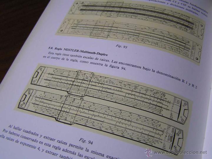 Antigüedades: LIBRO LA REGLA DE CALCULO MODERNA STENDER SCHUCHARDT 1971 SLIDE RULE RECHENSCHIEBER - Foto 22 - 51727412