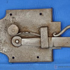 Antigüedades: PESTILLO ANTIGUO DE HIERRO FORJADO.. Lote 51746447