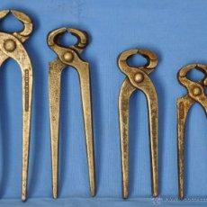 Antigüedades: TENAZAS DIFERENTES.. Lote 51773307