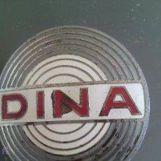 Antigüedades: CHAPA DE BASCULA DINA AÑOS 60. Lote 51782456