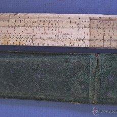 Antigüedades: REGLA DE CALCULO CASTELL 67/87, DE PLASTICO, EN SU ESTUCHE (15,5X5,5CM APROX). Lote 51811555
