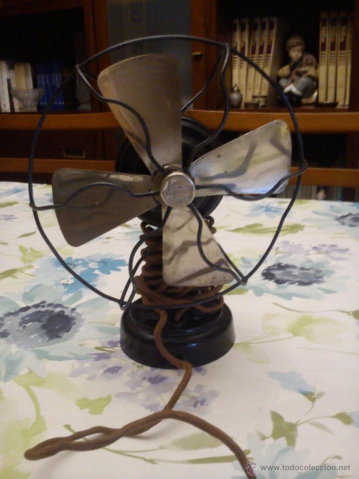 Antigüedades: Ventilador Antiguo Numax - Foto 2 - 51813394