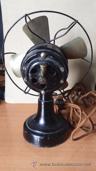 Antigüedades: Ventilador Antiguo Numax - Foto 3 - 51813394