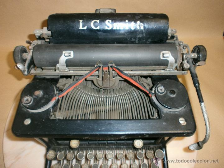 Antigüedades: Máquina de escribir L.C. Simth - Foto 5 - 51881880