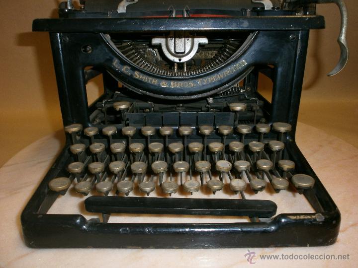 Antigüedades: Máquina de escribir L.C. Simth - Foto 6 - 51881880
