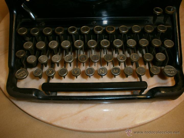 Antigüedades: Máquina de escribir L.C. Simth - Foto 7 - 51881880
