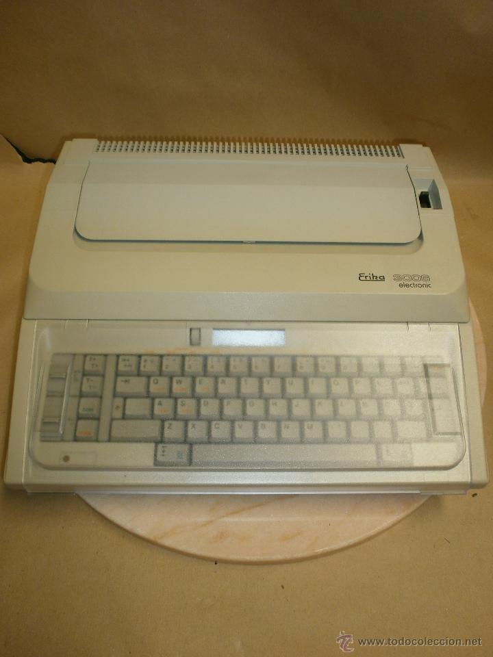 MÁQUINA ERIKA 3006 (Antigüedades - Técnicas - Máquinas de Escribir Antiguas - Erika)