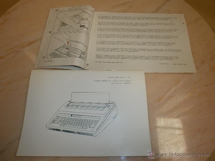 Antigüedades: Máquina Erika 3006 - Foto 9 - 51883519