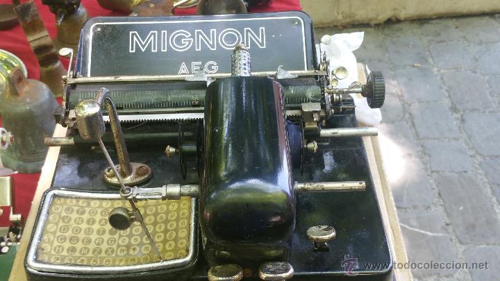 Antigüedades: maquina de escribir mignon - Foto 2 - 51918497