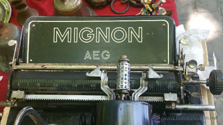 Antigüedades: maquina de escribir mignon - Foto 3 - 51918497