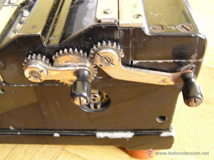 Antigüedades: ANTIGUA CALCULADORA KUHRT. AÑOS 20. - ADDING MACHINE CALCULATOR RECHENMASCHINE - Foto 9 - 51923229