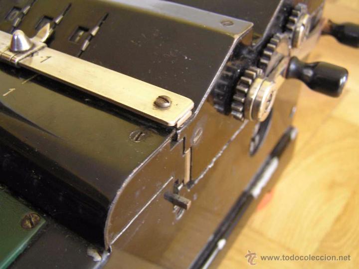 ANTIGUA CALCULADORA KUHRT  AÑOS 20  - ADDING MACHINE CALCULATOR  RECHENMASCHINE