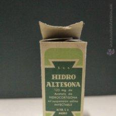 Antigüedades: ANTIGUO BOTE, MEDICAMENTO HIDROALTESONA. Lote 51955929