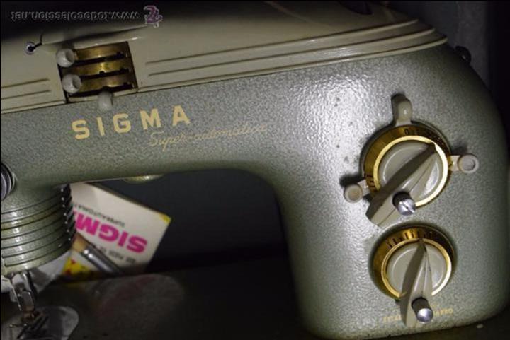 Antigüedades: Preciosa y funcionando.SIGMA. - Foto 7 - 51959250
