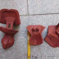 Antigüedades: 4 PATAS ANTIGUAS DE BAÑERA EN HIERRO FUNDIDO - APROX 1920 PESO DEL CONJUNTO 6 KG + INFO. Lote 49640208