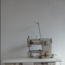 Antigüedades: MAQUINA DE COSER INDUSTRIAL MARCA SUNSTAR MODELO KM-380BL-B 220V KOREA SEWING MACHINE CO.LTD. Lote 51994627