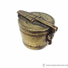 Antigüedades: ANTIGUOS PONDERALES PARA PESAR ORO O MONEDAS DE CAMBIO - SIGLO XVIII. Lote 49082140