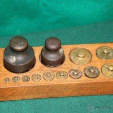 Antigüedades: ANTIGUO TACO DE PESA.. Lote 52014680