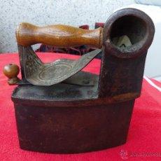 Antigüedades: PLANCHA ANTIGUA DE CHIMENEA. Lote 52078905
