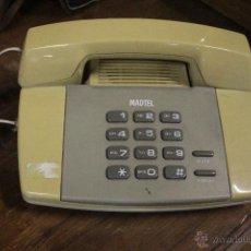 Teléfonos: TELEFONO MADTEL, VINTAGE. Lote 52123970