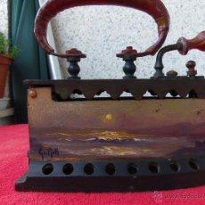 Antigüedades: PLANCHA DECORACION. Lote 52125513