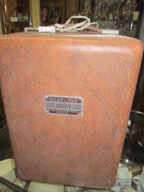Antigüedades: Regulador de tensión Cinematografía Marin. 20 x 20 x 29 cms. de altura. - Foto 2 - 52170317