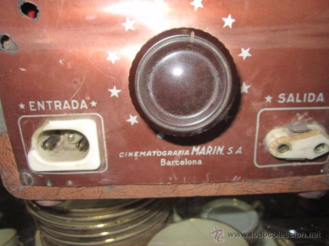 Antigüedades: Regulador de tensión Cinematografía Marin. 20 x 20 x 29 cms. de altura. - Foto 6 - 52170317