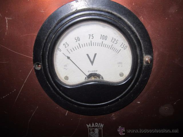 Antigüedades: Regulador de tensión Cinematografía Marin. 20 x 20 x 29 cms. de altura. - Foto 7 - 52170317