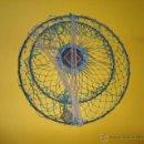 Antigüedades: ANTIGUO RETEL PARA PESCA - 26 CM DIAMETRO PB19. Lote 52377434