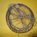 Antigüedades: ANTIGUO RETEL PARA PESCA - 26 CM DIAMETRO PB19. Lote 52377456