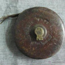 Antigüedades: CINTA MÉTRICA INGLESA. S.XIX. Lote 52412636
