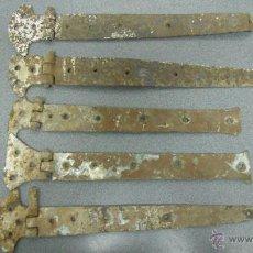 Antigüedades: CINCO, BISAGRAS. Lote 52440188