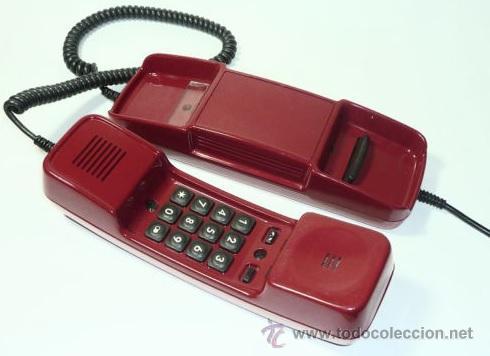 Teléfonos: ANTIGUO TELEFONO ALEMAN VINTAGE MODELO KOMPAKT KIEL HANSEAT - Foto 2 - 52479888
