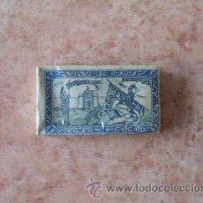Antigüedades: CAJA HOJAS DE AFEITAR TOLEDO AZUL,10 UNIDADES, 5 PTAS.,BASSAT, SA,SEMI PRECINTADA,BUENA,RARA. Lote 52482428