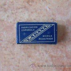 Antigüedades: CAJA DE HOJAS DE AFEITAR MARCA LABANA,10 UNID.,BUEN ESTADO,SIN USAR. Lote 52485171