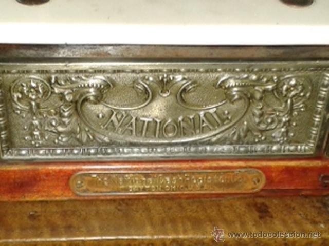 Antigüedades: Caja registradora national de pequño tamaño - Foto 7 - 52489932