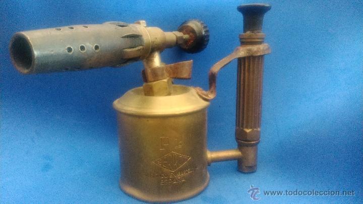 LAMPARA DE SOLDAR (Antigüedades - Técnicas - Herramientas Antiguas - Otras profesiones)