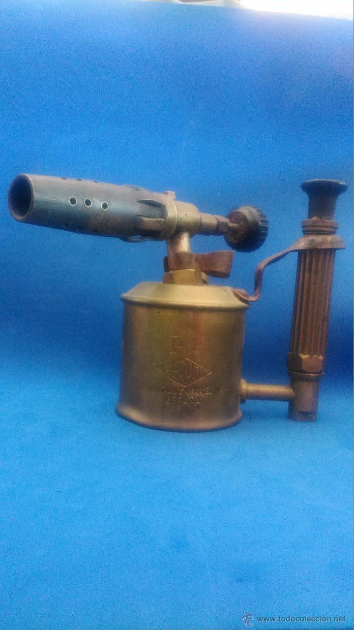 Antigüedades: LAMPARA DE SOLDAR - Foto 4 - 52500555
